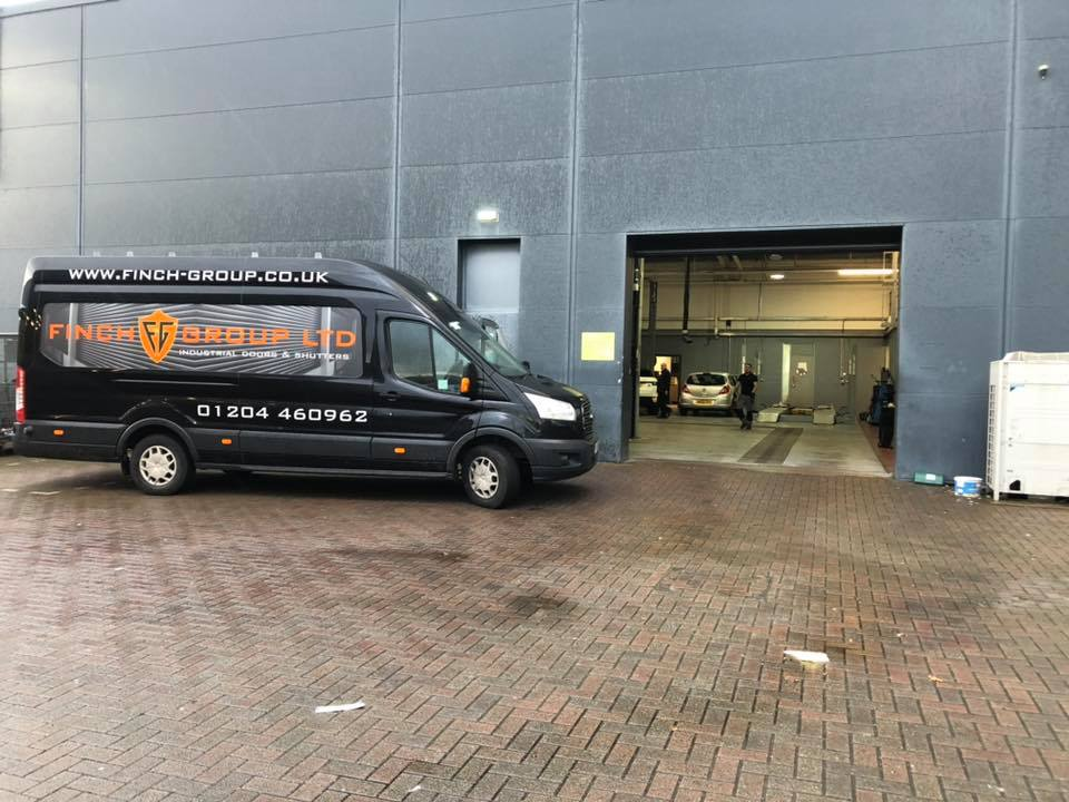 Finch Group - Security Roller Shutters