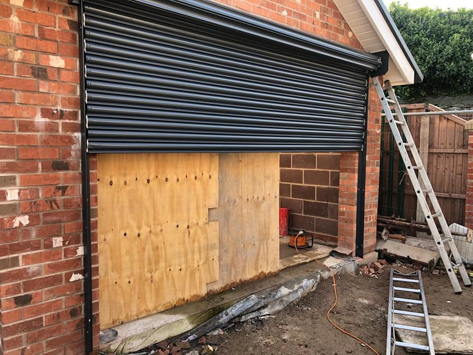 Electric Roller Shutters in Blackpool