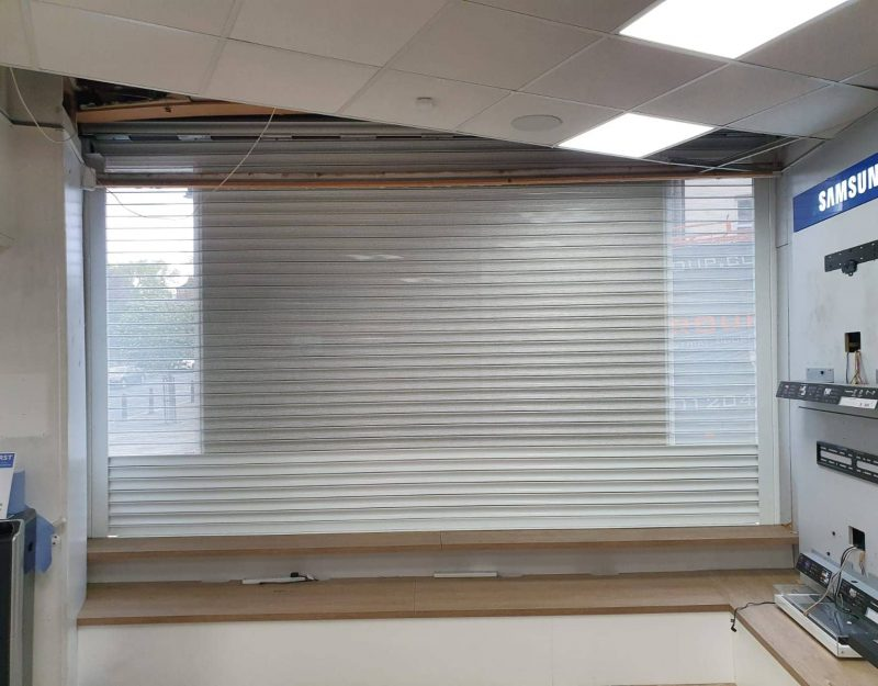 new security roller shutters in stockport