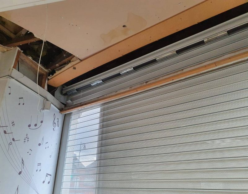 security shutter installation in stockport